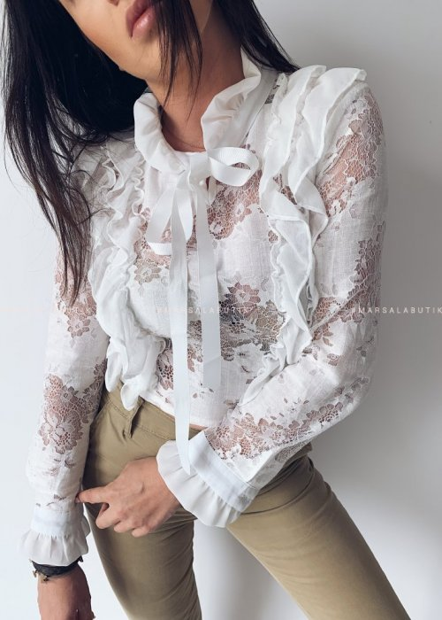GWEN short lace shirt