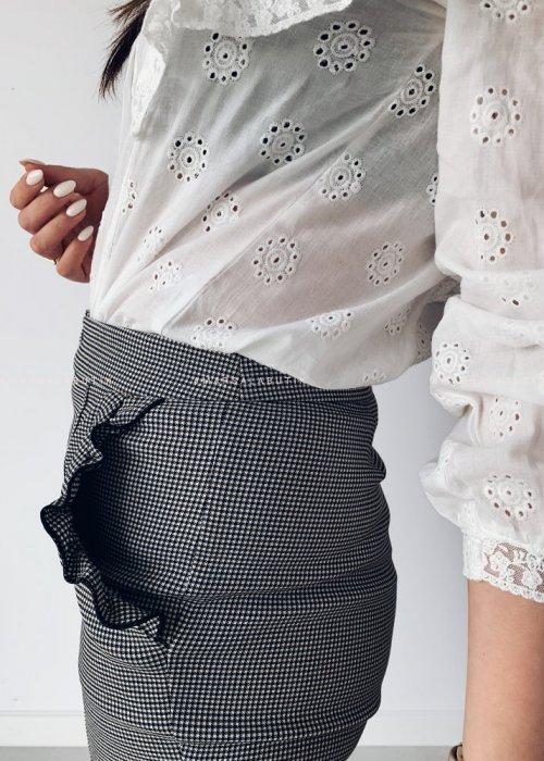 Spodnie cygaretki SUPREME w krateczkę