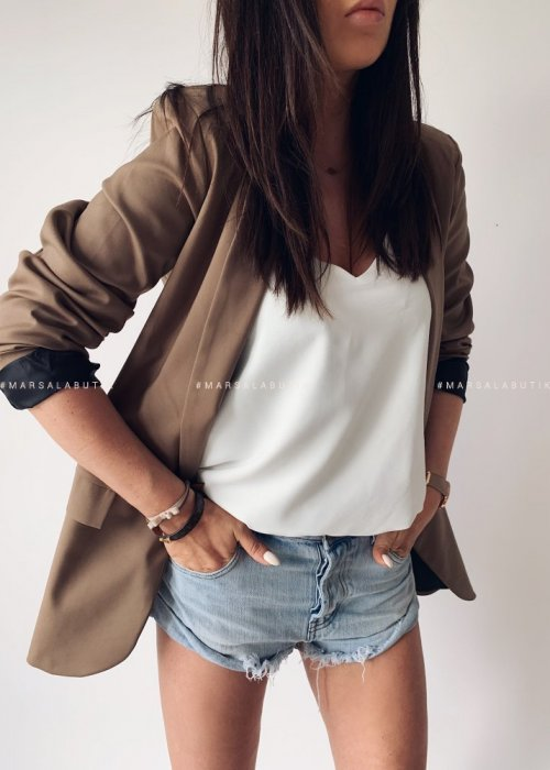 ESSENTIAL JACKET MOCCA