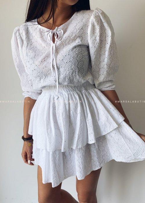 Sukienka NANCY II BY MARSALA biała