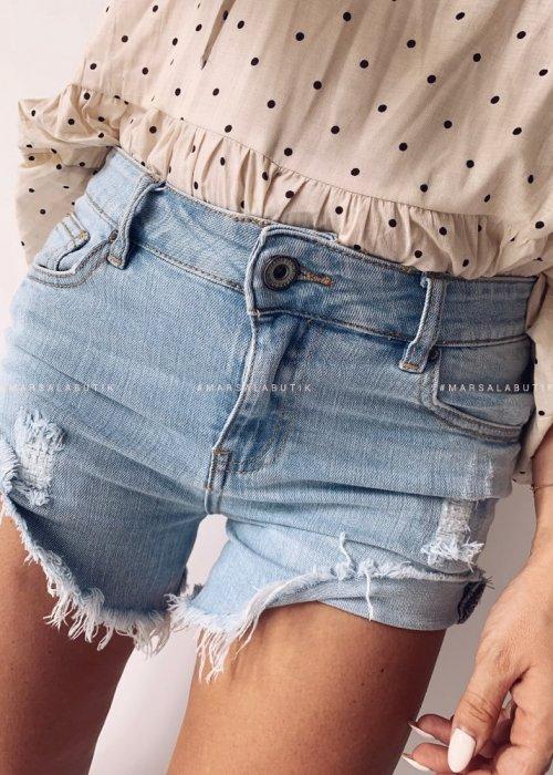 Spodenki PROTECT jasny jeans
