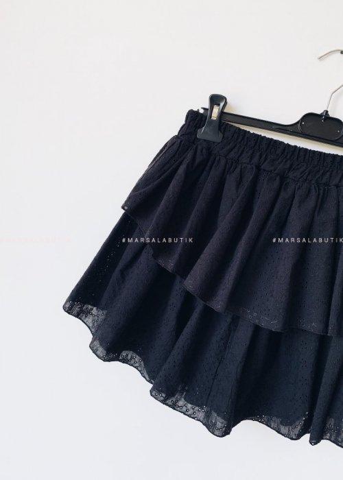 Spódniczka LAGOON BY MARSALA ażurowa czarna
