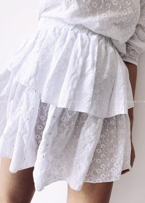 Spódniczka LAGOON BY MARSALA ażurowa biała
