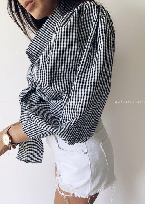 Koszula short FREAKY kratka