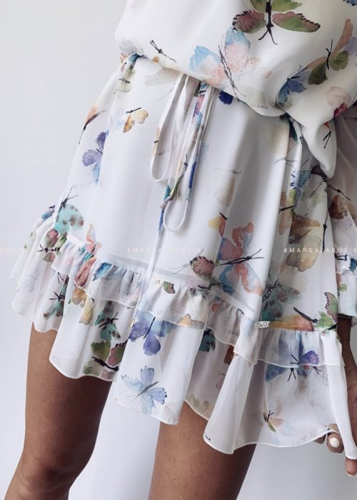 Sukienka LARISA hiszpanka motylki