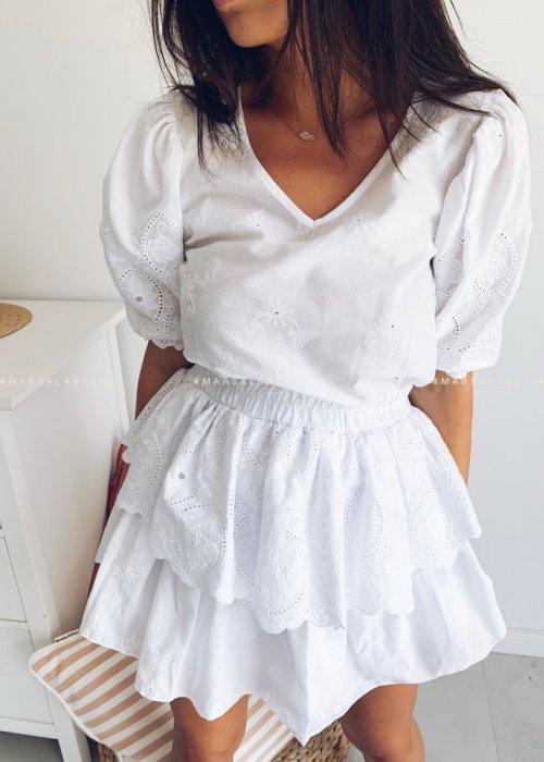 Sukienka LA PALMA BY MARSALA biała