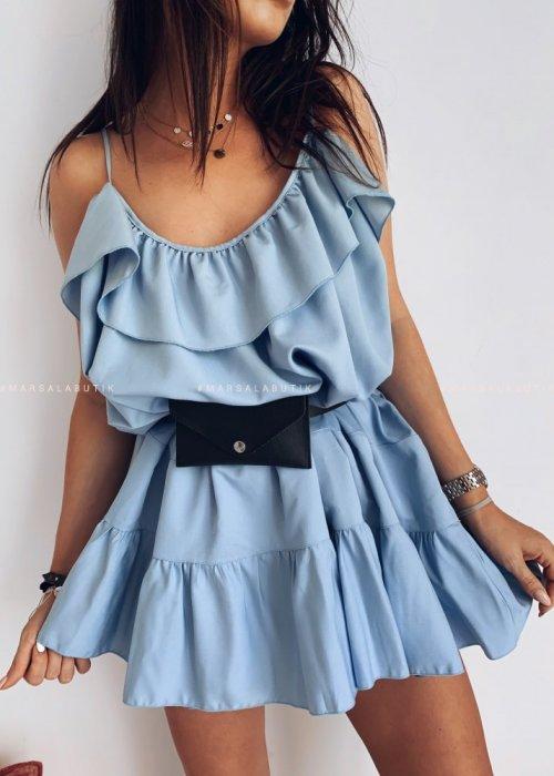 Sukienka MALIBU BY MARSALA blue