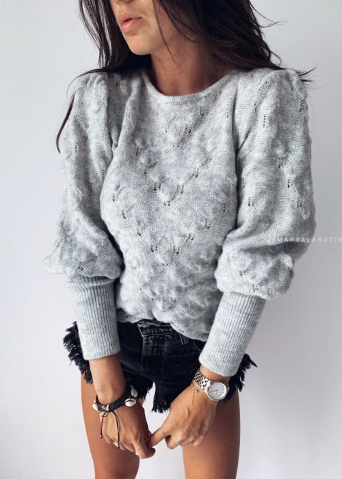 Sweterek ALABAMA szary