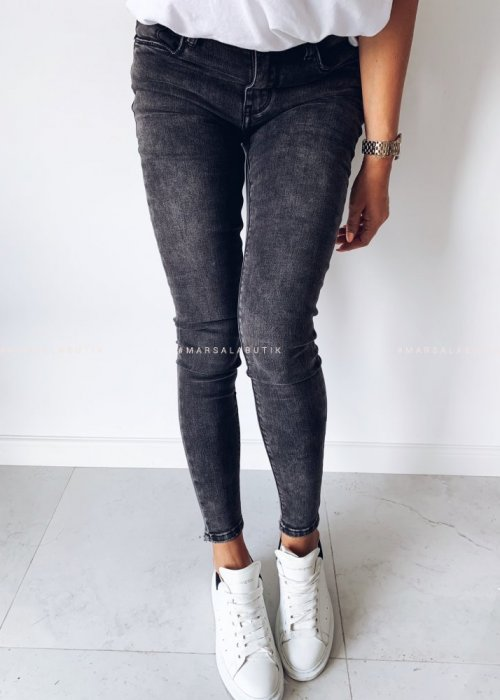 Grey denim jeans – GRAPHITE