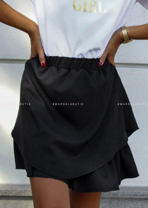 Spódniczka mini FRISCO BY MARSALA czarna x Karolina