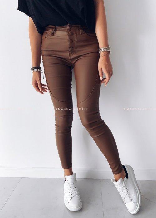 Spodnie woskowane TANAMI camel
