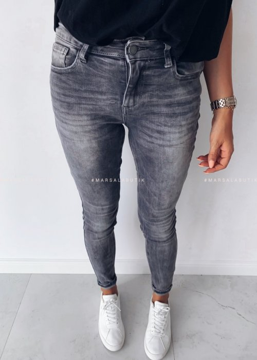 Trousers CLOUD denim grey