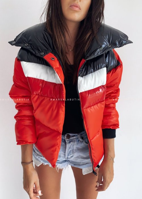 Down jacket BOSTON RED