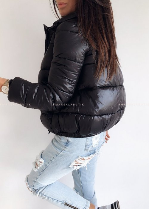 Black down bomber jacket – SUGAR