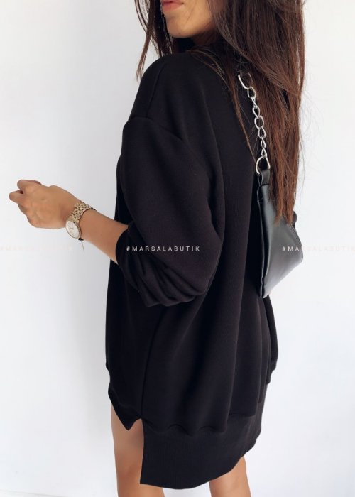 Blouse LONG BY MARSALA black