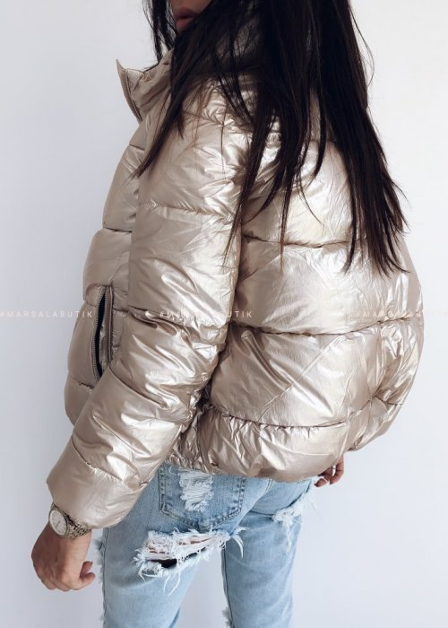 Gold down bomber jacket – SUGAR