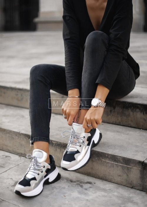 Adidasy HOLO SILVER VERSION