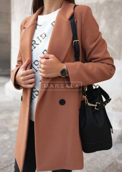 STYLISH BY MARSALA camel coat