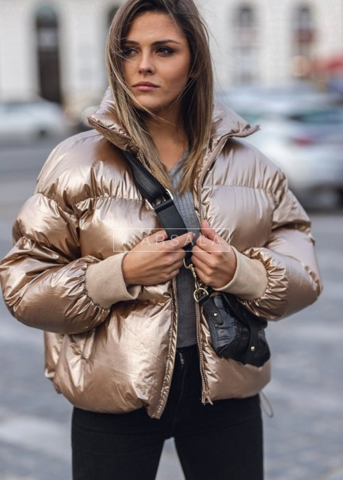 Down jacket GLAM GOLD